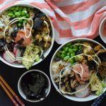 Recipe: Miso Eggplant Sushi Bowl