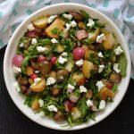 Recipe: Roasted Radish, Potato and Jerusalem Artichoke Salad