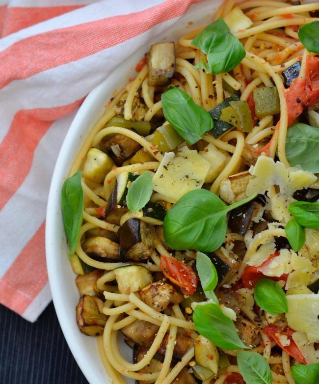 Ratatouille Spaghetti | I Spy Plum Pie