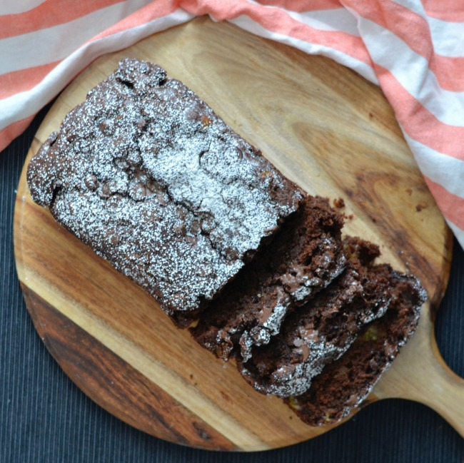 Vegan Chocolate Banana Bread   I Spy Plum Pie