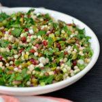 Recipe: Pomegranate Pistachio Israeli Couscous Salad