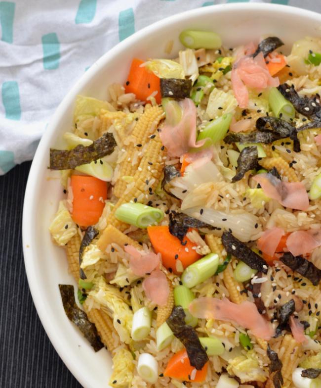 Miso Tonkatsu Fried Rice | I Spy Plum Pie