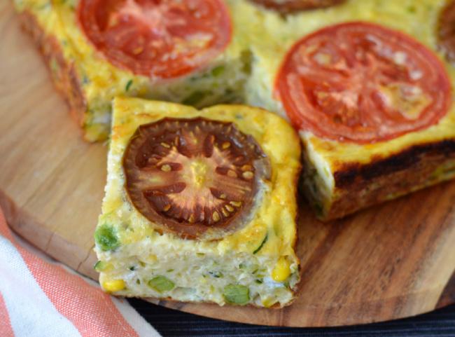 Zucchini Tomato Slice   I Spy Plum Pie