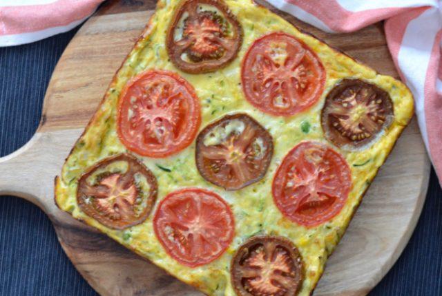 Zucchini Tomato Slice | I Spy Plum Pie