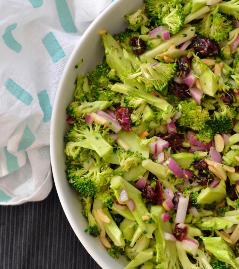 Broccoli Cranberry Salad   I Spy Plum Pie