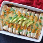 Recipe: Black Bean Sweet Potato Enchiladas