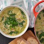 Recipe: Orzo Spinach Soup