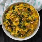 Recipe: Creamy Pumpkin Spinach Pasta