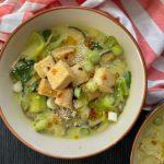 Recipe: Tofu Mushroom Curry Noodles