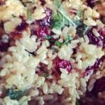 Recipe: Pomegranate and Cranberry Rice Salad