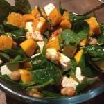 Recipe: Pumpkin, Chickpea Salad with a Lemon & Chilli Dressing