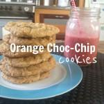 Recipe: Orange Choc-Chip Cookies