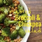 Recipe: Roasted Broccoli and Chickpea Salad