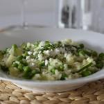 Recipe: Zucchini & Pea Risotto