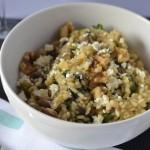 Recipe: Mushroom & Spinach Risotto