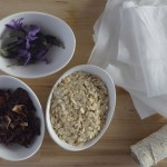 DIY Oat Bath Bags