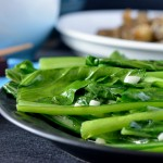 Recipe: Garlic Asian Greens