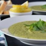 Recipe: Minted Pea and Potato Soup