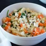Recipe: Sweet Potato Spinach Risotto
