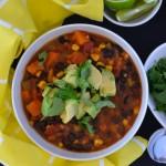 Recipe: Black Bean & Sweet Potato Soup