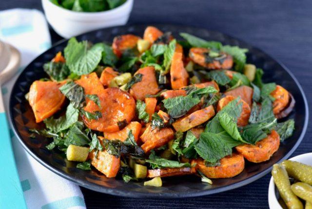 Sweet Potato Pickle Salad