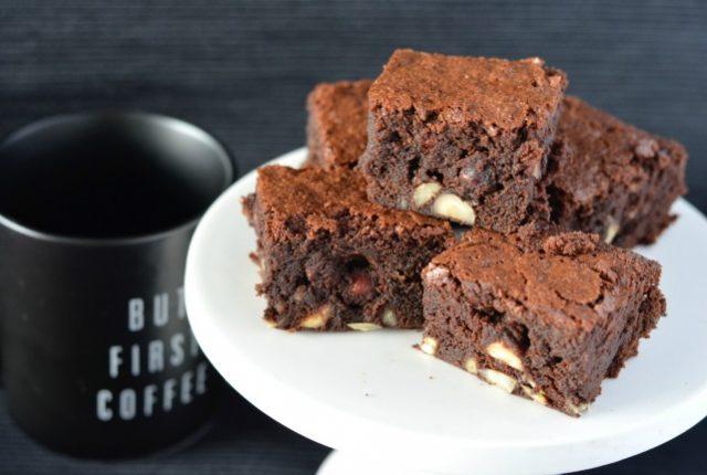 Hazelnut Coffee Brownies | I Spy Plum Pie