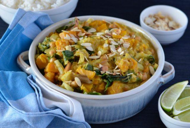Pumpkin Silverbeet Curry | I Spy Plum Pie