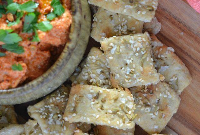 Simple Homemade Crackers | I Spy Plum Pie