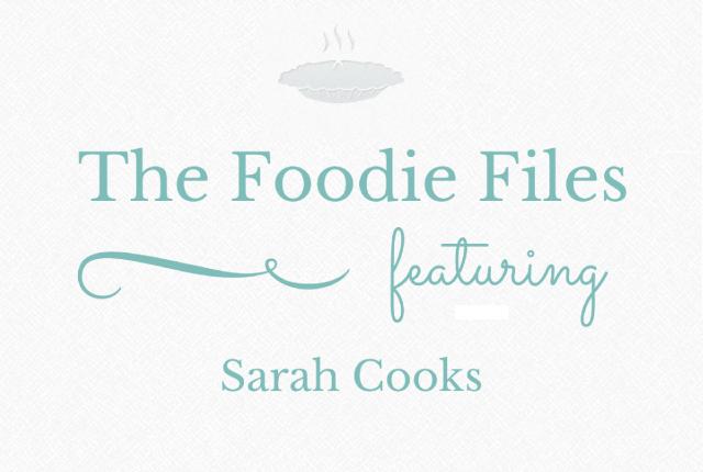 The Foodie Files: Sarah Cooks | I Spy Plum Pie