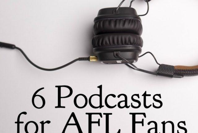 6 Podcasts for AFL Fans | I Spy Plum Pie