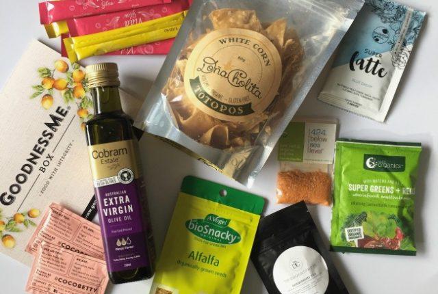 August Goodness Me Box Review | I Spy Plum Pie