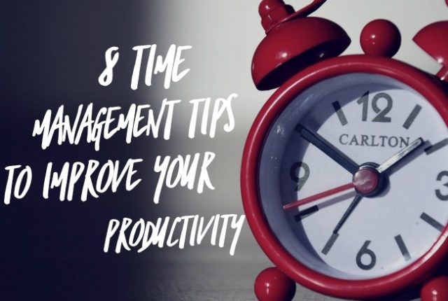 Time Management Tips to Improve Your Productivity | I Spy Plum Pie