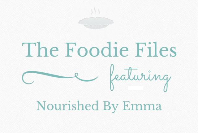 Foodie Files: Nourished By Emma | I Spy Plum Pie
