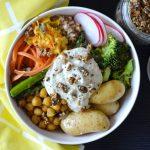 Recipe: Spring Chickpea Buddha Bowl
