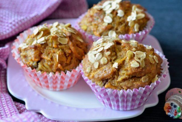 Sweet potato apple muffins | I Spy Plum Pie