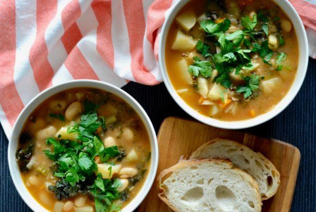 Kale Potato Soup | I Spy Plum Pie