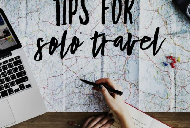 Tips for Solo Travel | I Spy Plum Pie
