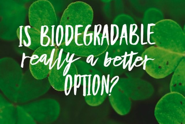 Is Biodegradable Really a Better Option? | I Spy Plum Pie