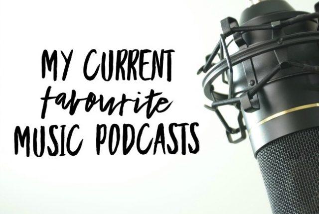 My Current Favourite Music Podcasts | I Spy Plum Pie