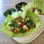 Recipe: Grilled Corn Lettuce Cups