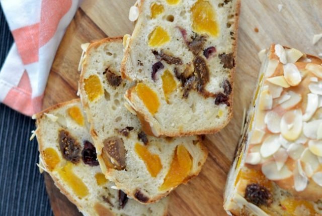 Apricot, Fig and Cranberry Loaf | I Spy Plum Pie