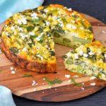 Recipe: Asparagus Edamame Quiche