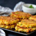 Recipe: Carrot Ginger Ricotta Fritters