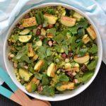 Recipe: Charred Zucchini Israeli Couscous Salad