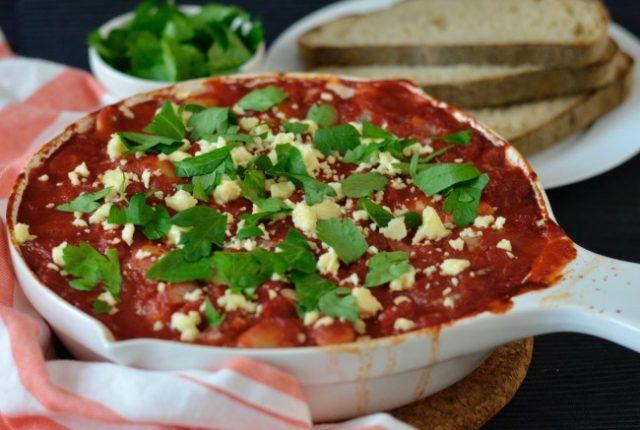 Tomato Baked Butter Beans | I Spy Plum Pie