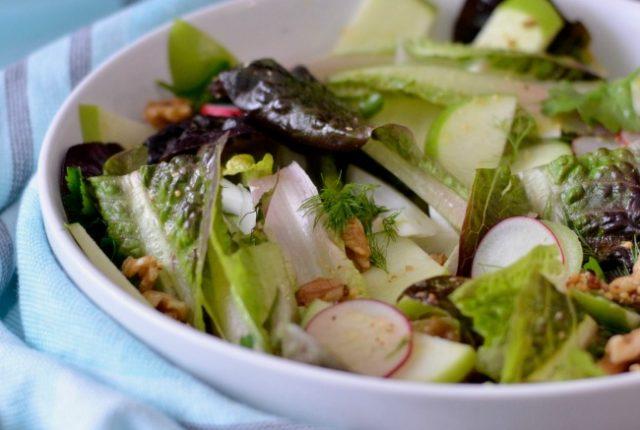 Fennel Radish Apple Salad | I Spy Plum Pie