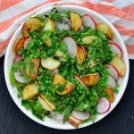Recipe: Roast Potato Pea and Radish Salad