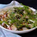 Recipe: Lentil Chickpea Radish Salad