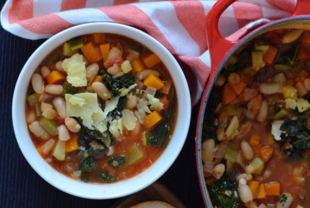 Tuscan Vegetable Soup | I Spy Plum Pie
