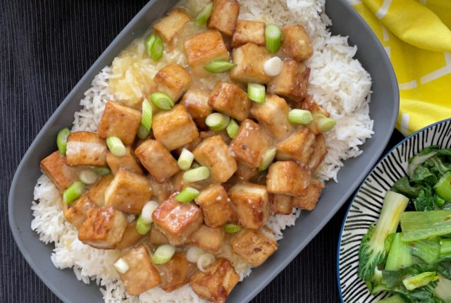 Lemon Tofu | I Spy Plum Pie